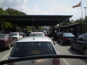 Picture of the border crossing.