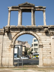 Picture of Hadrian's Gate