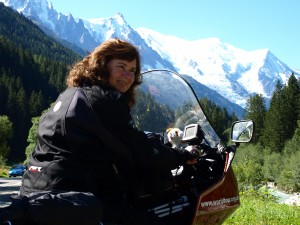 Cathy Birchall in Switzerland